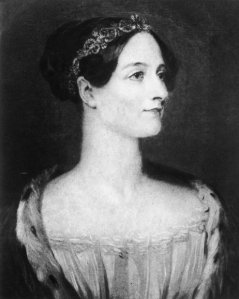 Image Credit: NPR, Shown: Augusta Ada, Countess of Lovelace, was the daughter of poet Lord Byron. The computer language ADA was named after her in recognition of her pioneering work with Charles Babbage.